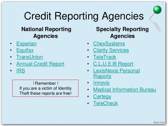 Equifax Credit Report >> Police Report Vs. Incident Report