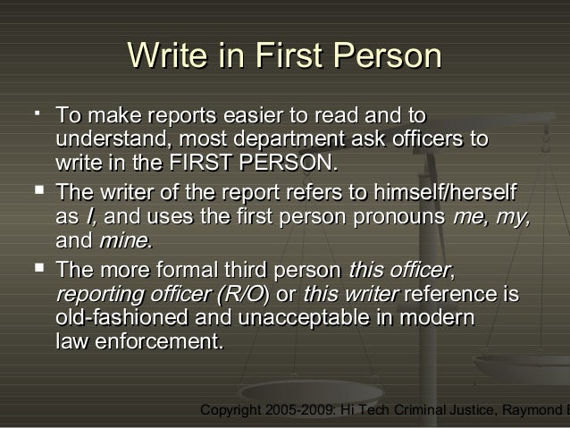 Police written tests (PIRT)