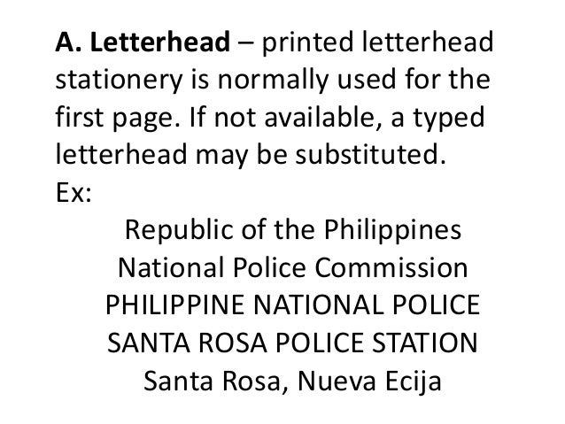 Police report writing