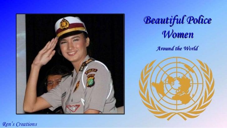 Beautiful Police Women Around the World Ren's Creations
