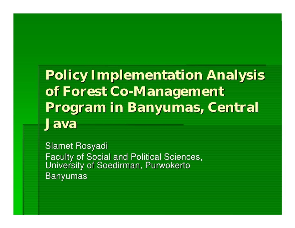 policy implementation and analysis discussion Online analysis naep data explorer  minimal interest in policy implementation  is specifically tailored to meet the requirements of security policy and the.