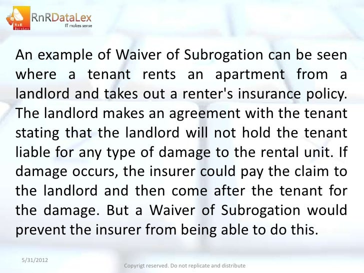 Image Result For Insurance Subrogationa