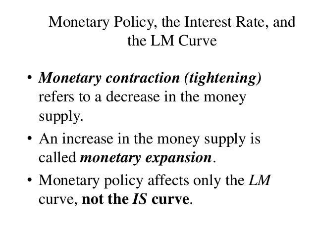 an analysis of the monetary policy meaning Definition: the expansionary monetary policy seeks to increase economic growth by increasing the money supply in the market typically, the government steps in with an expansionary monetary policy during a recession.