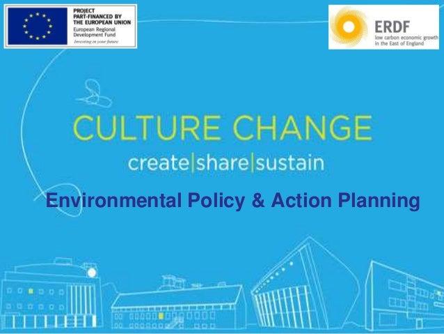 #CreateShareSustain Environmental Policy & Action Planning