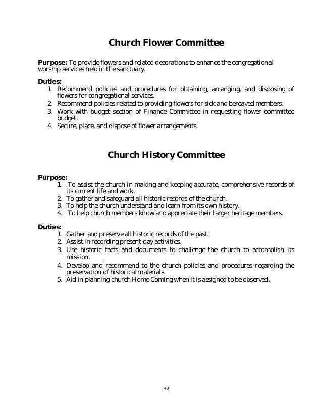 Policy and procedure manual church sample 32 wajeb Choice Image