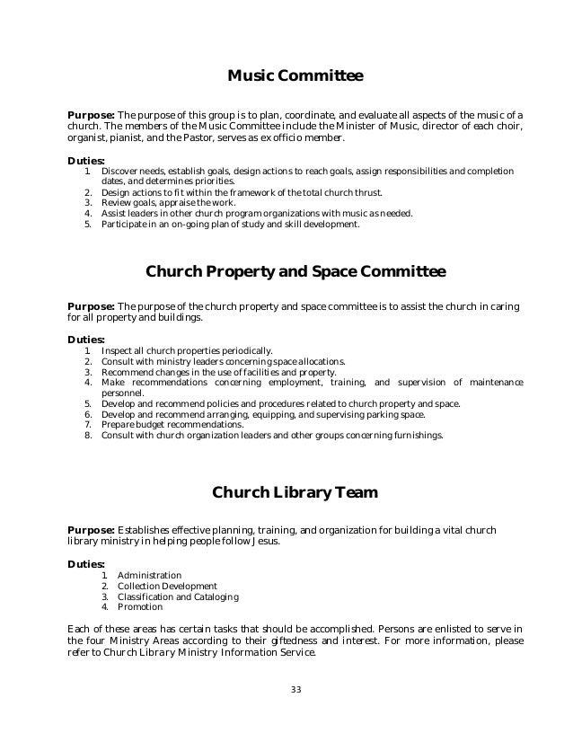 writing a proposal for a church program