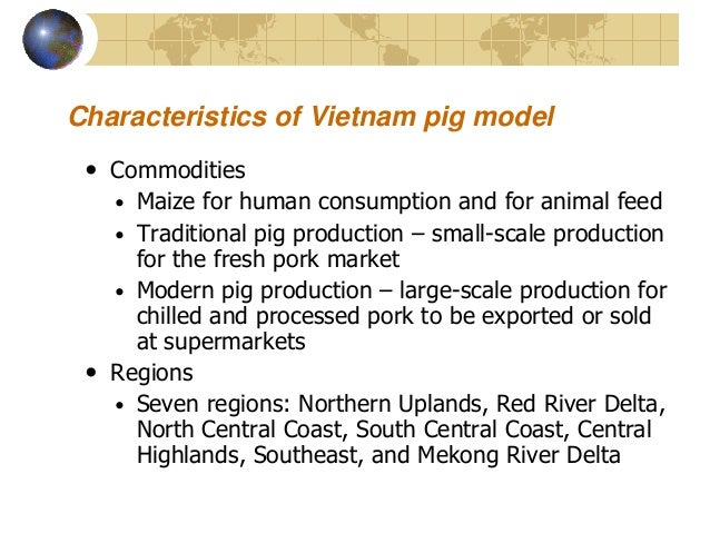 Future scenarios for pig sector development in Vietnam