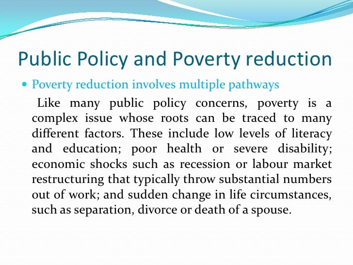 policy formulation and processes public policy