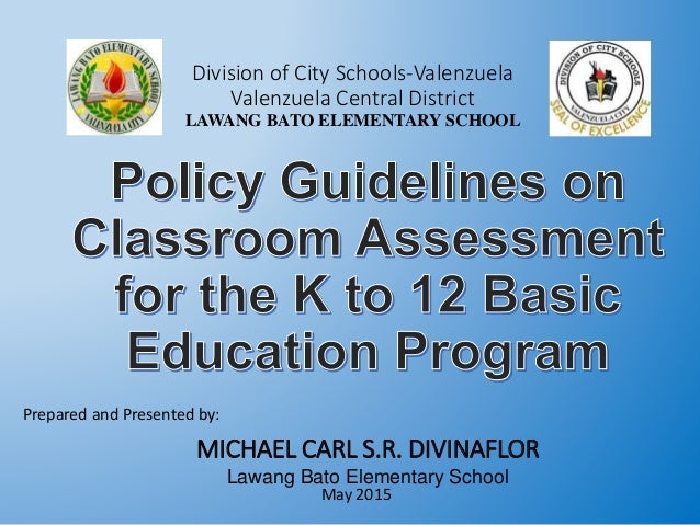 Division of City Schools-Valenzuela Valenzuela Central District LAWANG BATO ELEMENTARY SCHOOL Prepared and Presented by: M...