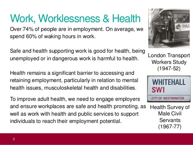 Health 2 Work.Policy In Action On Health And Work