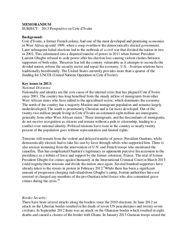 Policy Memo Template 12 Memorandum Report Sample 12 Memorandum