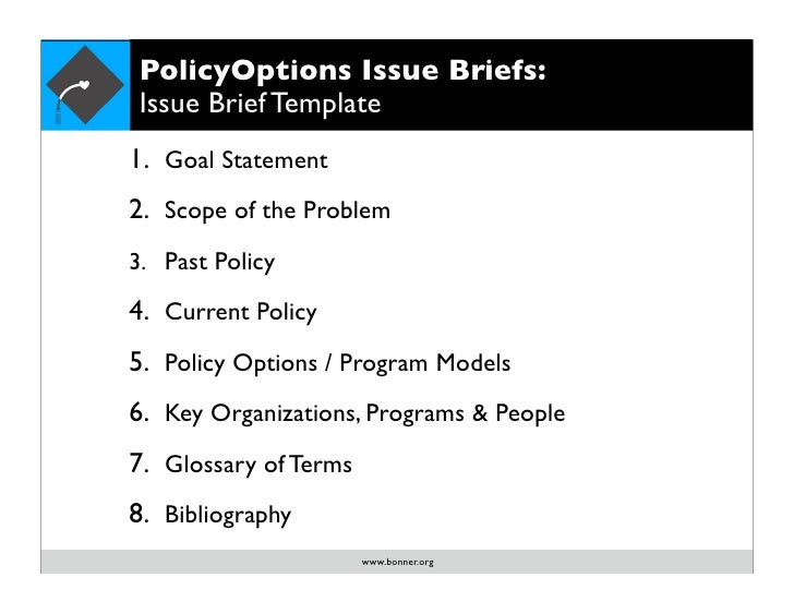 Policyoptions 11 policyoptions issue briefs issue brief template pronofoot35fo Gallery