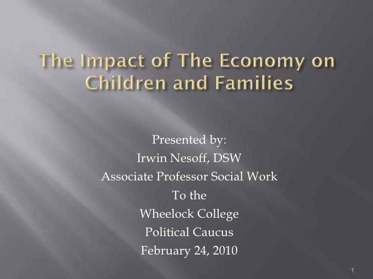<ul><li>Presented by: </li></ul><ul><li>Irwin Nesoff, DSW </li></ul><ul><li>Associate Professor Social Work </li></ul><ul>...