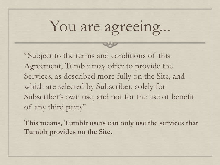 tumblr online policy primer