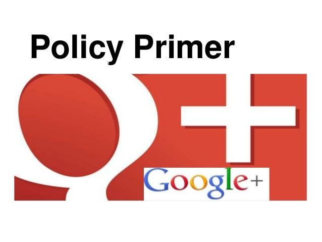 Policy Primer