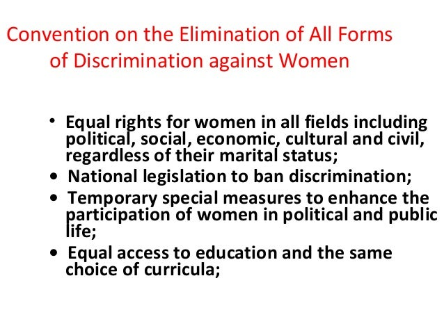 equal participation of women in all fields Women workers / equal rights / labour force participation / unemployment  providing maternity protection to all women according to  women at work.