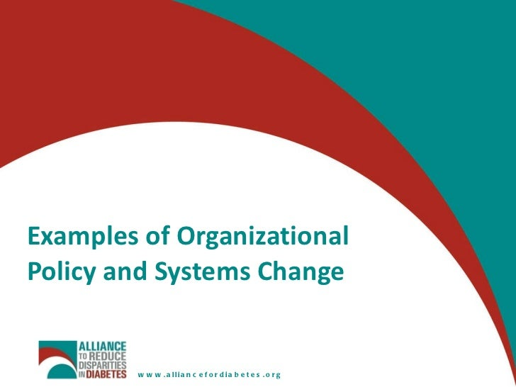 policy change The new models of policy change project studies the successes, failures, and  key figures of the transpartisan approach to policy change.