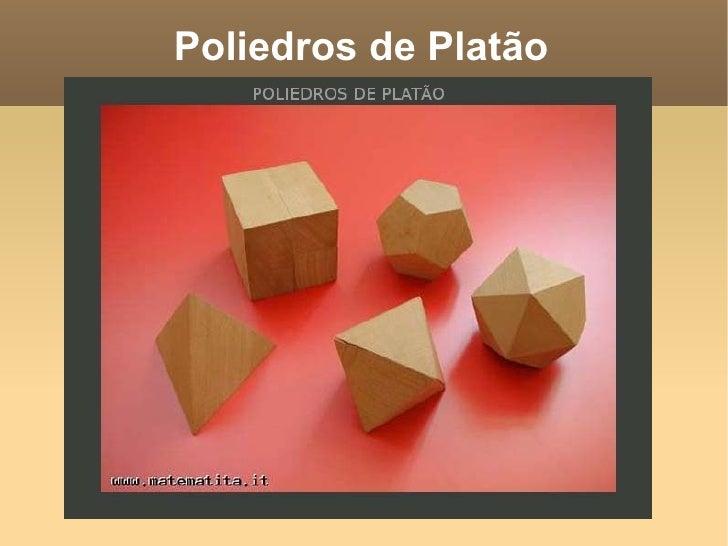 Poliedros de Platão