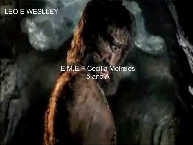 LEO E WESLLEY E VITOR E.M.E.F Cecilia Meireles 5 ano A LEO E WESLLEY