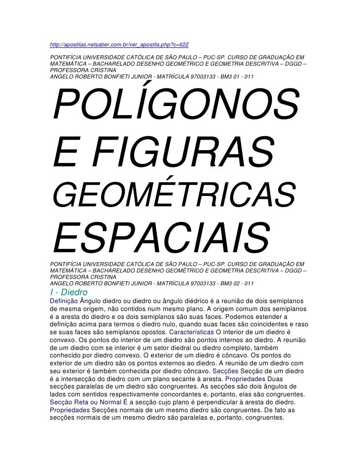 http://apostilas.netsaber.com.br/ver_apostila.php?c=622  PONTIFÍCIA UNIVERSIDADE CATÓLICA DE SÃO PAULO – PUC-SP. CURSO DE ...