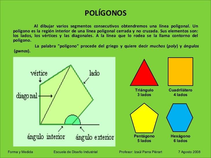 Poligonos y poliedros for Que es exterior y interior