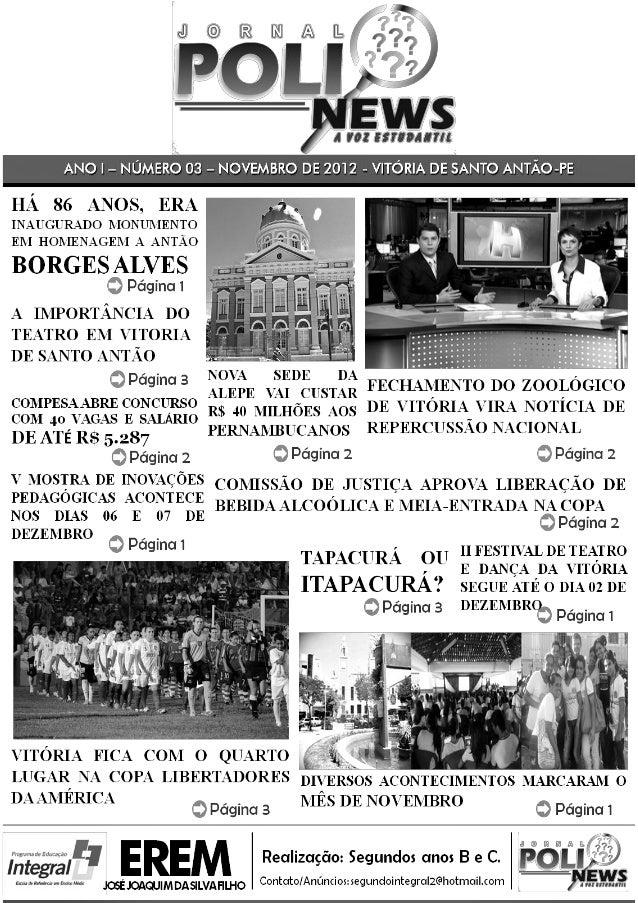 Poli news - 3ª edição