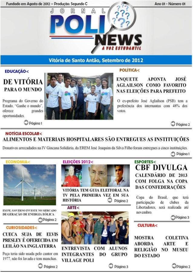 Poli News - 1º Edição