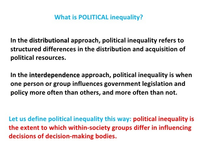 define difference and inequality Equity and inequality equity means fairness or evenness, and achieving it is considered to be an economic objectivedespite the general recognition of the desirability of fairness, it is often regarded as too normative a concept given that it is difficult to define and measure.