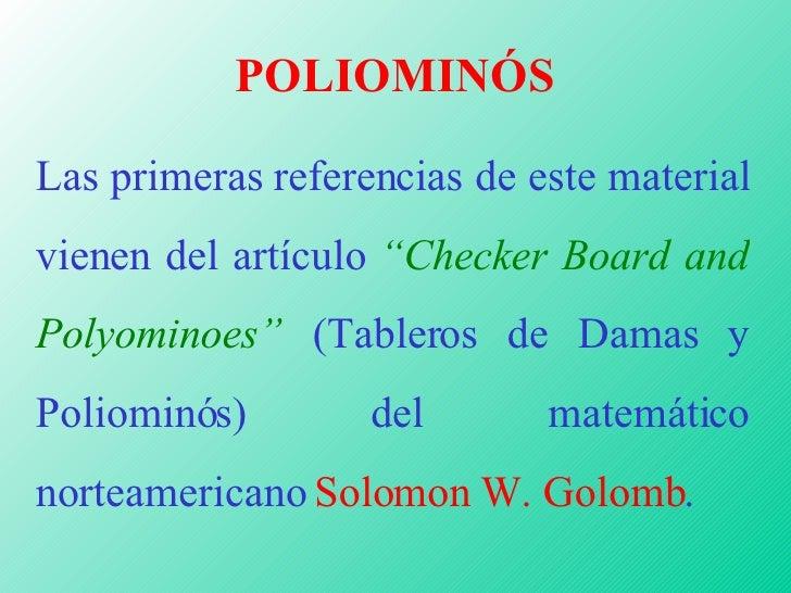 Poliominós Slide 2