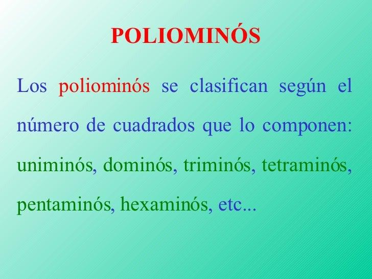 Poliominós Slide 3