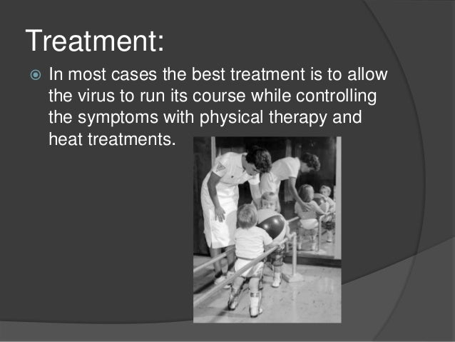 an analysis of the symptoms caused by the poliomyelitis also known as polio People who were highly active (physical activity) after recovering from poliomyelitis are also likely to develop severe symptoms causes till date, no specific cause has been attributed for the occurrence of post polio syndrome.