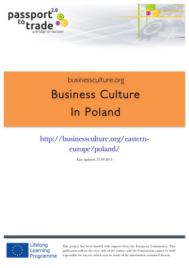 Polish business culture guide learn about poland 1 businessculture business culture in poland httpbusinessculture reheart Images
