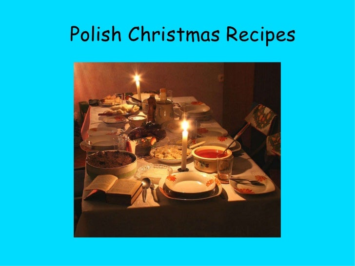 Polish Christmas Recipes