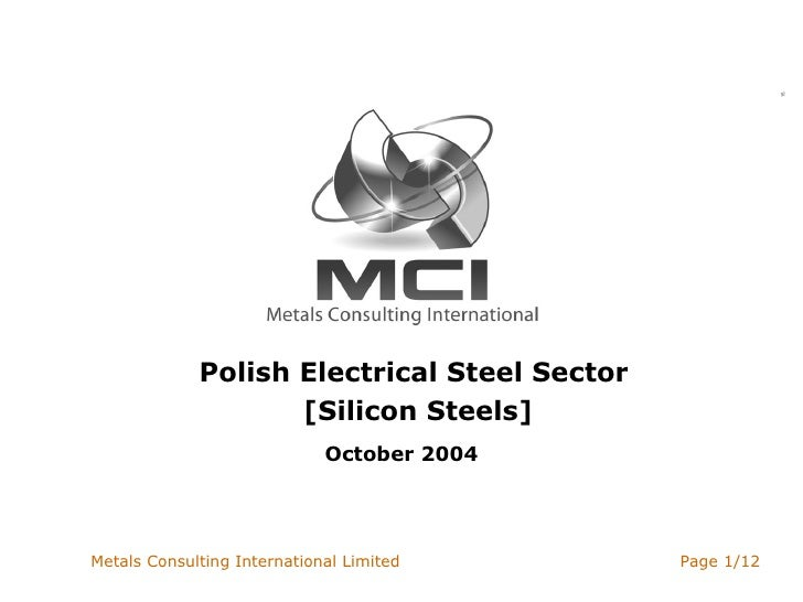 Polish Electrical Steel Sector  [Silicon Steels] October 2004
