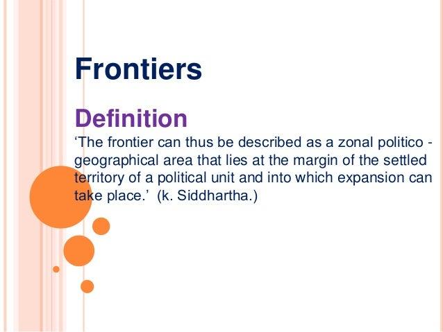 Frontiers Definition U0027 ...