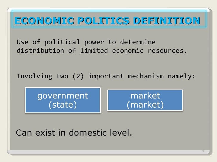 6 political economy Quizlet provides chapter 6 political economy activities, flashcards and games start learning today for free.