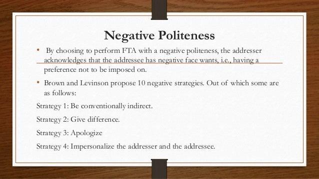 politeness  pragmatics