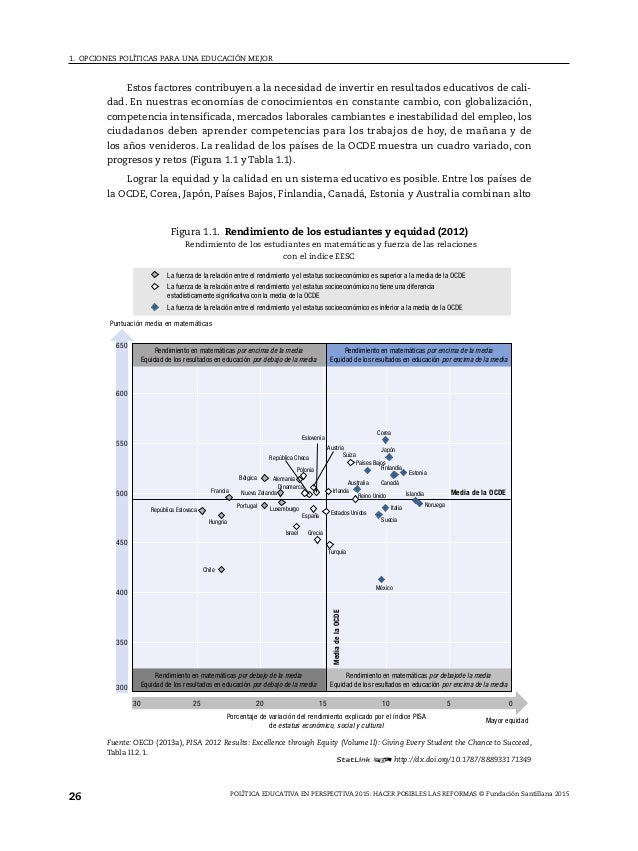 adultos que han finalizado al menos la educación secundaria superior en la mayoría de los países de la OCDE. Las pruebas m...
