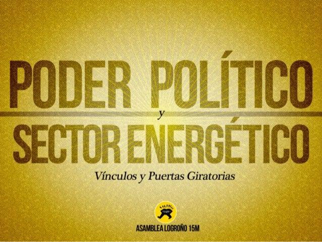 Vínculos entre Poder Político y Sector Energético en España