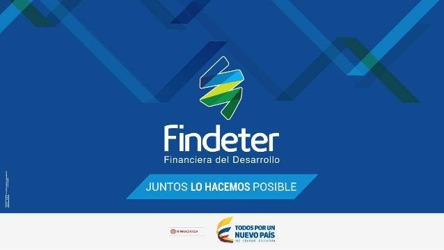 POLÍTICA AMBIENTAL DE FINDETER CONTENIDO: 1. Definición 2. Estrategia de la política 3. Programas ambientales 4. Indicador...