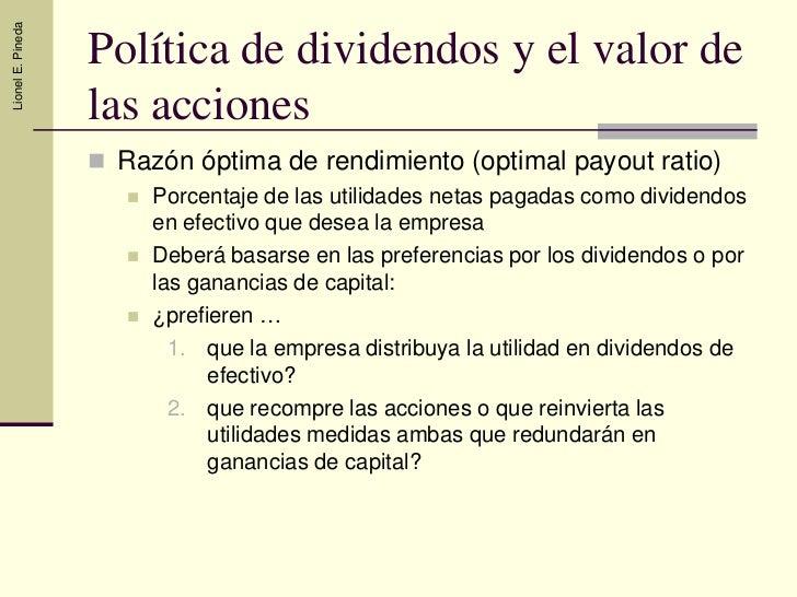 Politica de Dividendos Slide 3