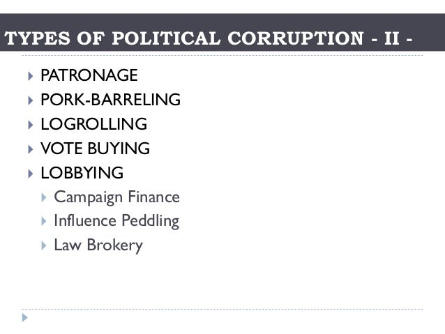 A study on corruption in the