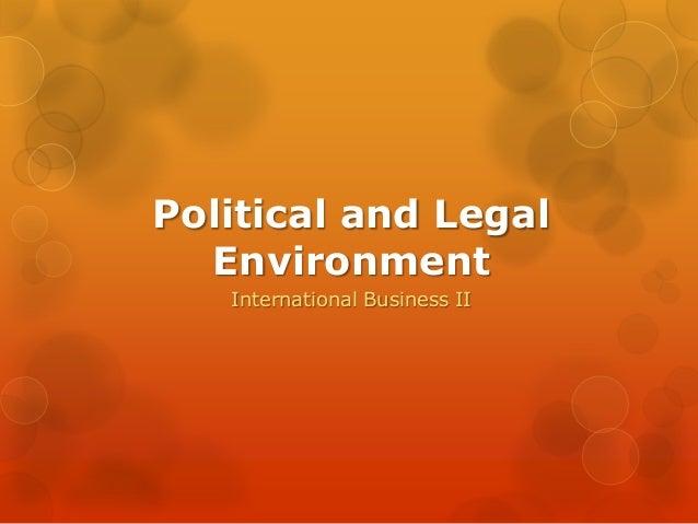 political environmental