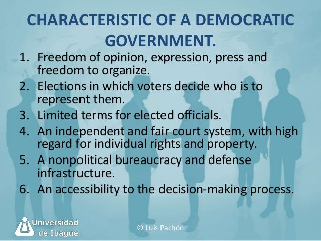 Political and legal environment for 6 characteristics of bureaucracy