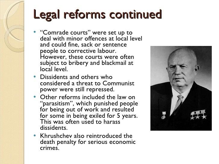 khrushchev economic policies