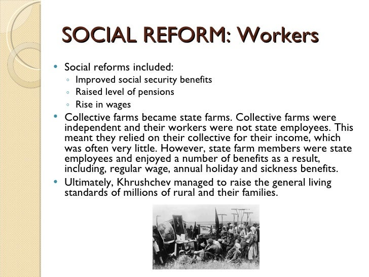 social reform Estimated financial effects of a comprehensive social security reform proposal including progressive price indexing—a proposal developed by robert pozen, member of the 2001 president's commission to strengthen social security.