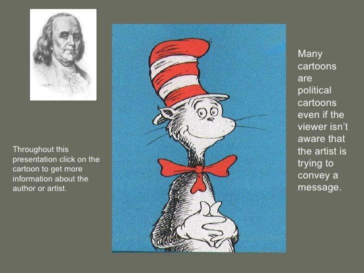 political cartoon presentation