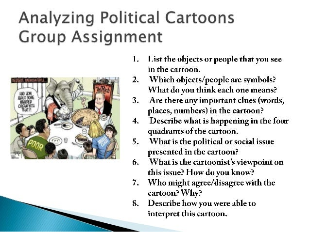 political cartoon analysis Google drive has a variety of tools personally, i tend to use and have my  students use docs, slides, and forms one that i have not used is.