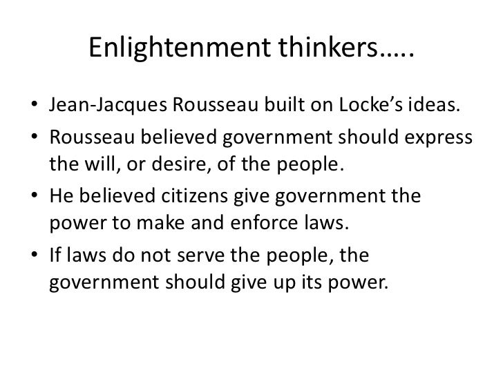 What Were Rousseau S Ideas About Natural Rights
