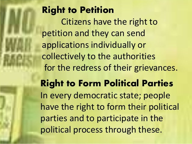 Political Civilsocial And Economics Rights Of Citizens